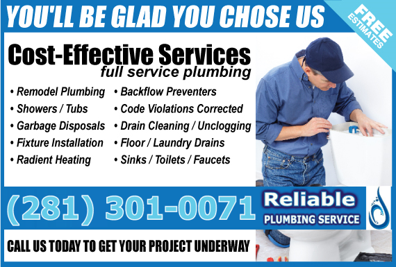 Call us for your Plumbing needs